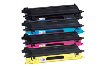 Brother TN-135 High Capacity Refurbished Toner Value Pack (B/C/M/Y)